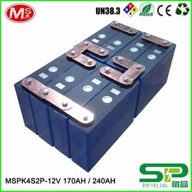 중국 Long cycle life lithium battery pack 12V 240Ah for electric vehicle or solar power system MSPK4S2P 대리점
