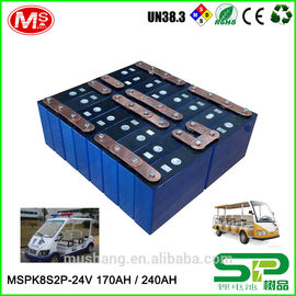 중국 High-efficiency rechargeable 24v100ah Lithium ion battery with PCM For Electric Sightseeing car 공장